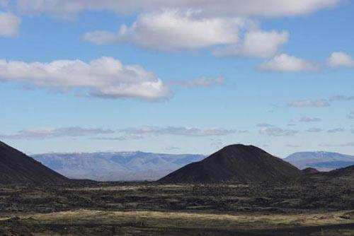 Ngọn núi nhân tạo bởi con người...