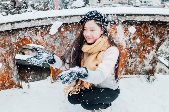 Săn tuyết trên đỉnh Mẫu Sơn vào mùa đông