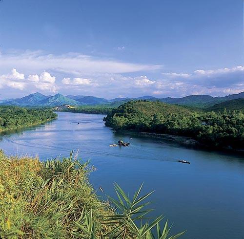 Khung cảnh nhìn từ đồi Vọng Cảnh