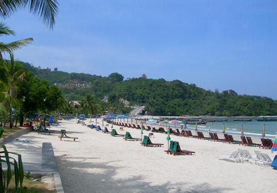 Bien Patong Thai Lan