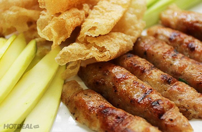 Nem Nướng Cuốn Bánh Tráng Phan Rang