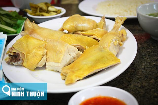 Địa điểm ăn món cơm gà Khánh Kỳ ở Phan Rang