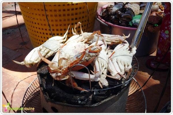 Các món ghẹ - Món ngon ở Phan Thiết.
