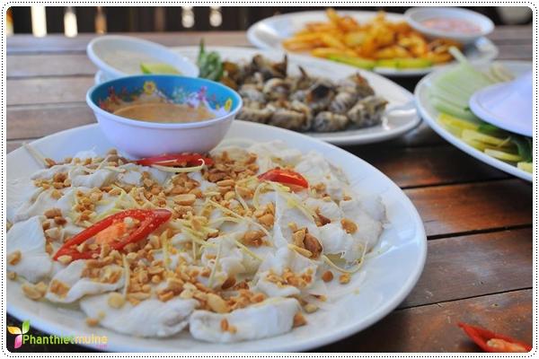 Gỏi cá - Món ngon ở Phan Thiết.