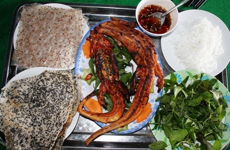 Dông là một món ăn đặc sản rất nổi tiếng ở Phan Thiết - Mũi Né