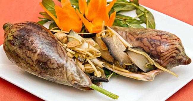 Gỏi ốc giác - Món ngon ở Phan Thiết.
