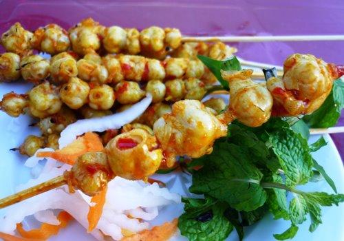 Món răng mực - Món ngon ở Phan Thiết.