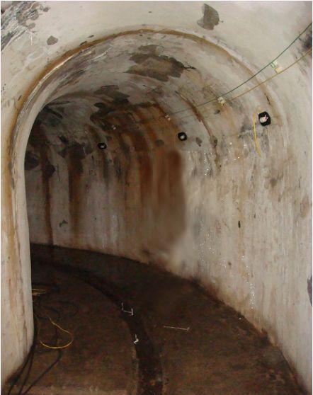 Hầm tránh bom ở pháo đài Thần công