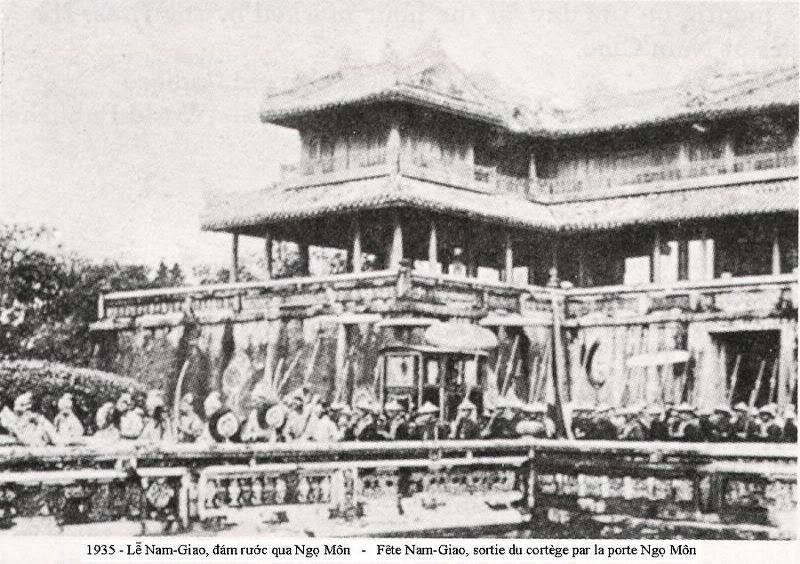 Lễ Nam Giao - Đám rước qua Ngọ Môn