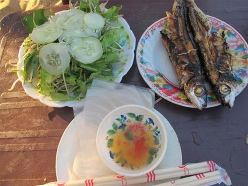 Món ngon Quảng Nam: Cá chuồn Núi Thành