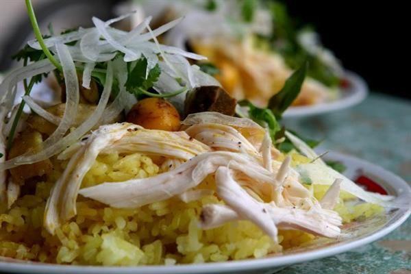 Món ngon Quảng Nam: Cơm gà