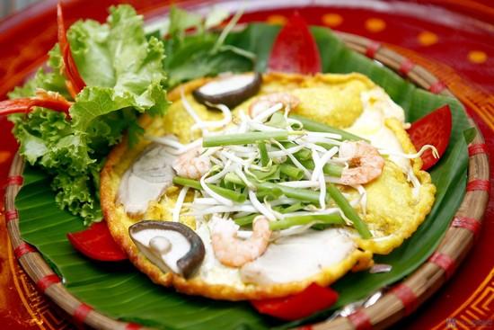 Đặc sản Quảng Trị - Bánh Khoái