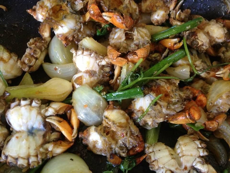 Món ngon Sầm Sơn: Các món ăn làm từ rạm.