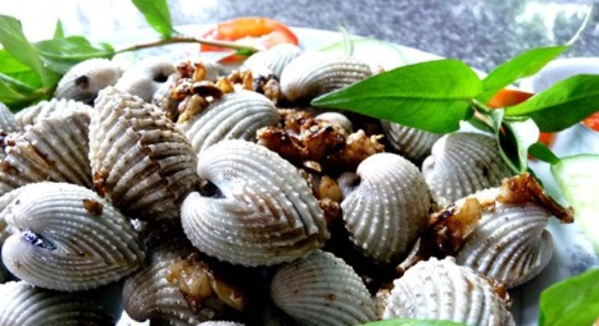 Món ngon Sầm Sơn: Sò Huyết.
