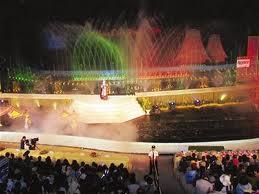 Sân khấu nhạc nước Cam Ly