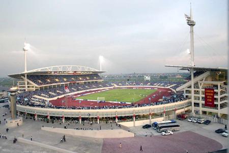 Toàn cảnh sân vận động