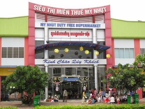 Một hệ thống siêu thị tại cửa khẩu Tịnh Biên