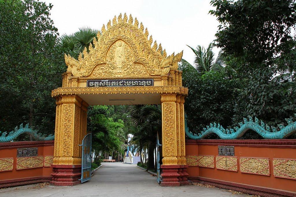 Điểm du lịch Sóc Trăng hấp dẫn: Chùa Dơi, ngôi chùa nổi tiếng nhất Sóc Trăng.