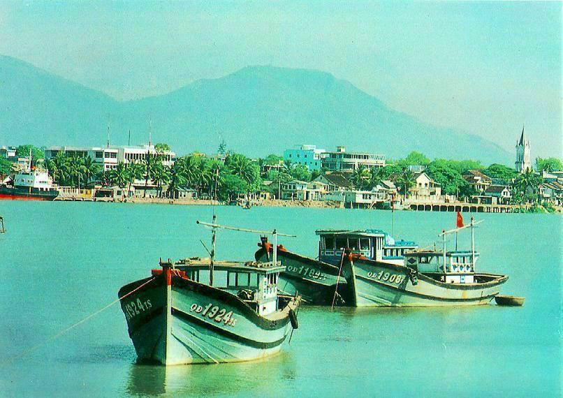 Toàn cảnh sông Hàn trước kia