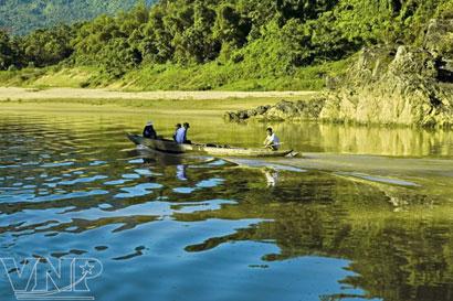 Sông Thu Bồn có lưu vực lớn nhất tỉnh Quảng Nam với diện tích trên 10 nghìn km2