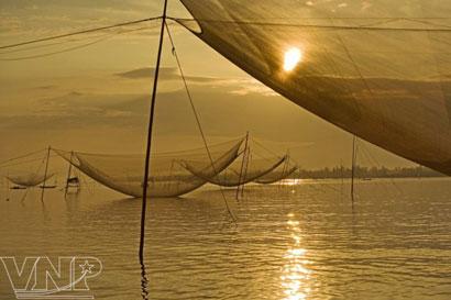 Rớ Cửa Đại, một nét văn hóa đặc trưng của vùng sông nước Thu Bồn