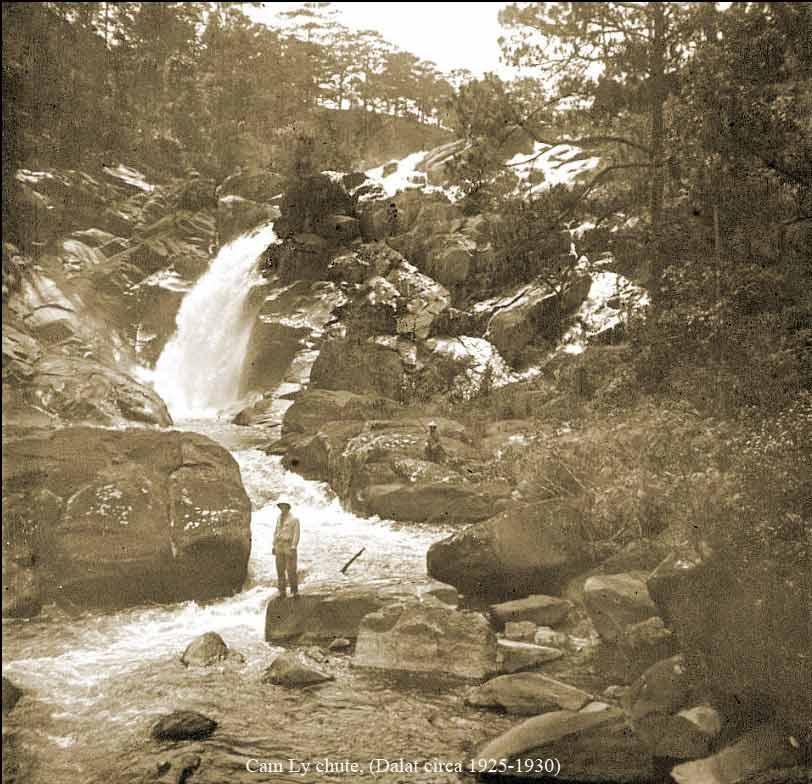 Hình ảnh thác Cam Ly trong lịch sử