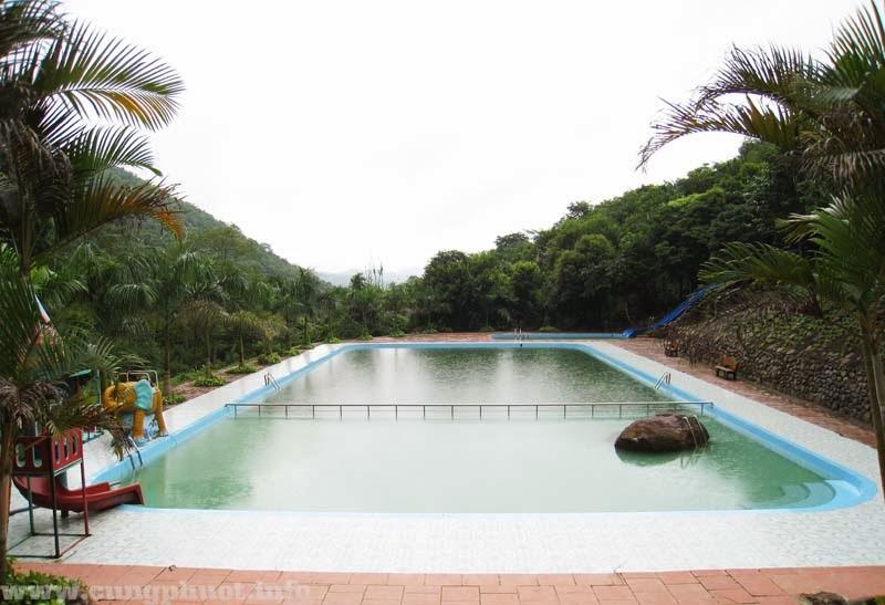 Bể bơi thư giãn