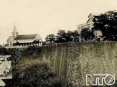 Toàn cảnh thành Điện Hải xưa kia