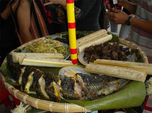 Cá tầm - Cao nguyên Măng Đen - Đặc sản Kon Tum