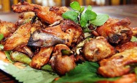 Thịt nhím - Đặc sản Kon Tum