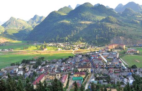 Thị trấn Mường Khương hôm nay