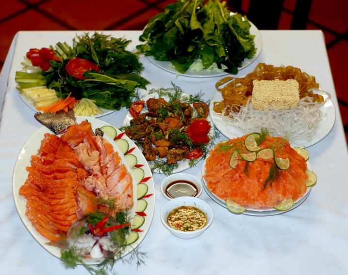 Cá hồi Sapa - đặc sản hấp dẫn nhất ở Sapa.