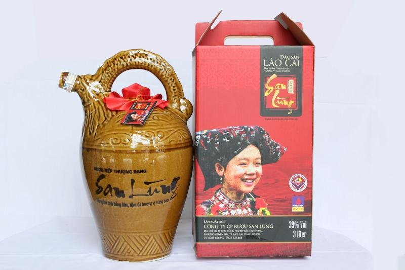Rượu Shan Lùng.