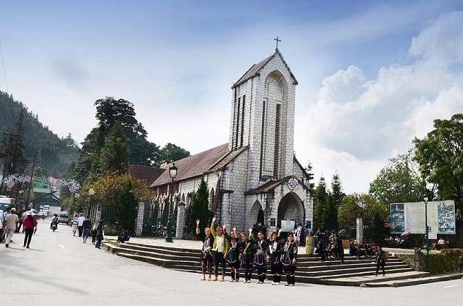 Nhà thờ đá Sapa.