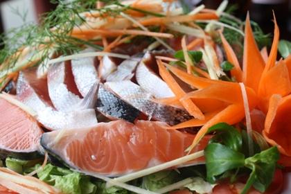 Đặc sản Sapa -  Cá Hồi, cá Tầm