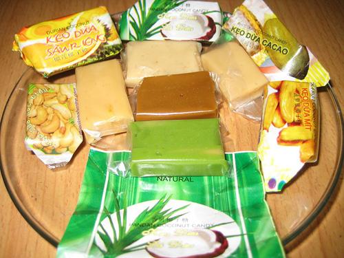 Đặc sản Bến Tre: Kẹo dừa