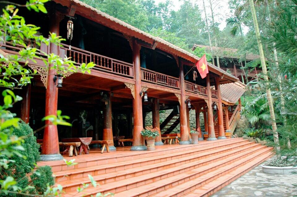 Nhà nghỉ, khách sạn ở Thiên Sơn Suối Ngà