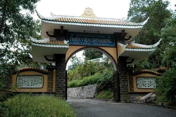 Cổng thiền viện