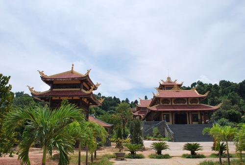 Một số kiến trúc đẹp, hài hòa ở Thiền viện