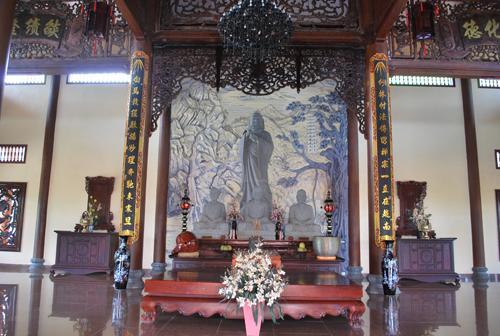 Nơi thờ Tổ sư Đạt Ma