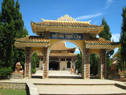 Thiền viện Trúc Lâm Đà Lạt là điểm đến của du khách muốn tĩnh tâm.