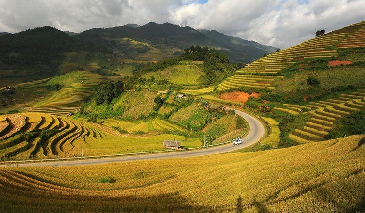 Thung lũng Tú Lệ, Văn Chấn, Yên Bái.