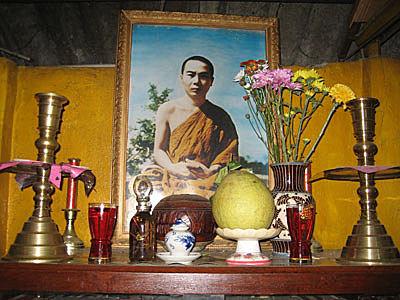 Bàn thờ Đức Tổ sư Minh Đăng Quang