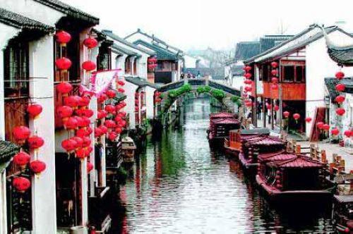 Vẻ đẹp thành phố Tô Châu