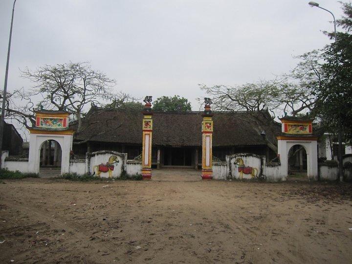 Điểm chụp hình đẹp ở Trà Cổ - đình Trà Cổ