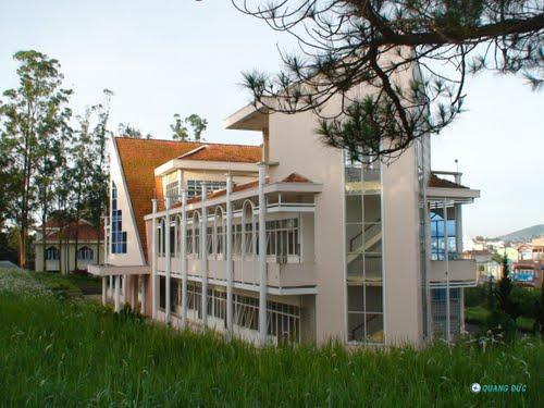 A30 - Kiến trúc độc đáo của trường