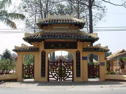 Cổng tam quan Văn Thánh Miếu – Ảnh: nguồn tuvanonline.com