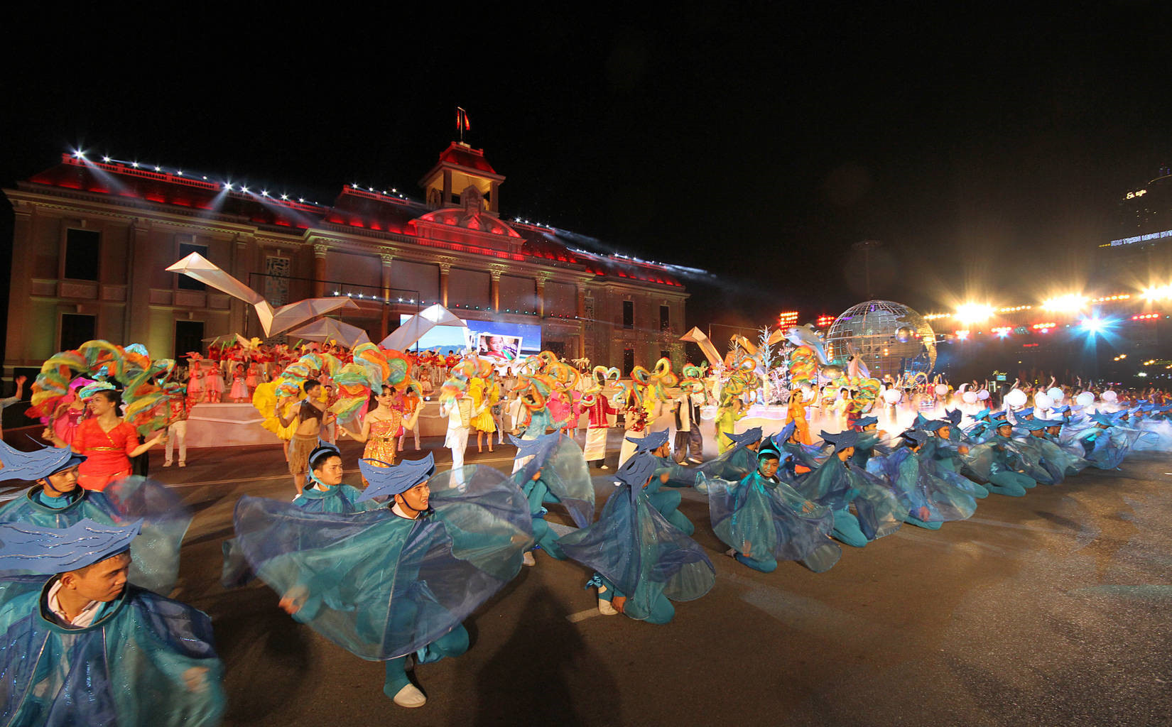 Lung linh festival biển Nha Trang