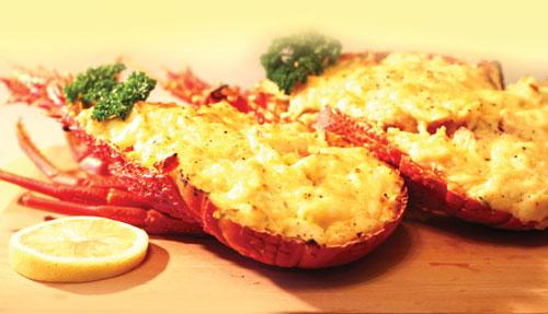 Món ngon Hạ Long - Tôm hùm nướng bơ tỏi.