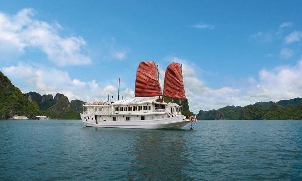 Để thăm quan Vịnh Hạ Long bạn cần mua vé để lên tàu du lịch đi ra vịnh.